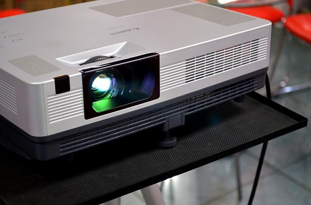 LCD proyektor presentasi