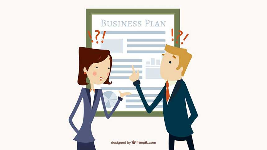cara membuat business plan ppt outline