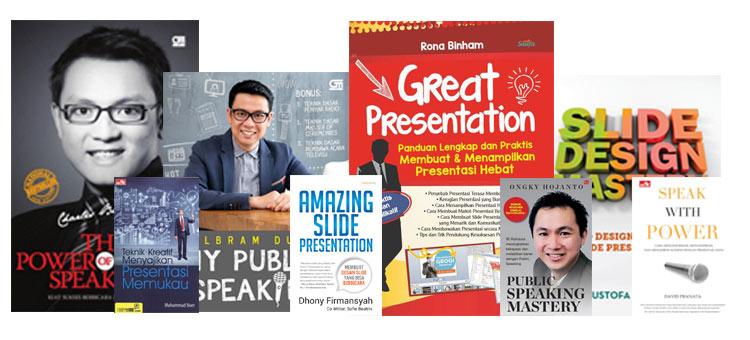 8 Buku Public Speaking dan Presentasi  Terbaik Indonesia Yang Wajib Anda baca
