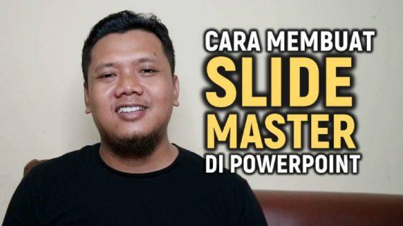 Video Cara Membuat Slide Master Di Powerpoint Langkah Demi Langkah