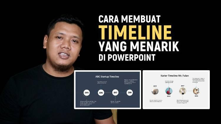 Cara Membuat Timeline Menarik Di Powerpoint