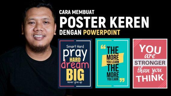 Cara Membuat Poster Yang Menarik Dengan Powerpoint