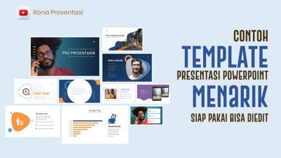 Contoh Template Presentasi Powerpoint Menarik dan Siap Pakai Bisa Diedit