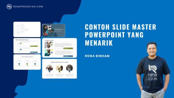 Contoh Slide Master PPT Yang Menarik dan Bisa Diedit