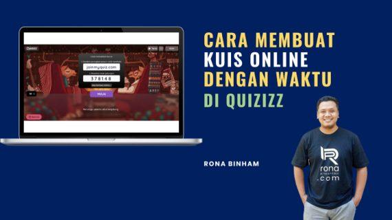 Cara Membuat Kuis Online Di Quizizz