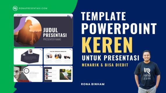 Template Powerpoint Keren Untuk Presentasi, Mengajar atau Kegiatan Sejenis Tatap Muka Maupun Daring