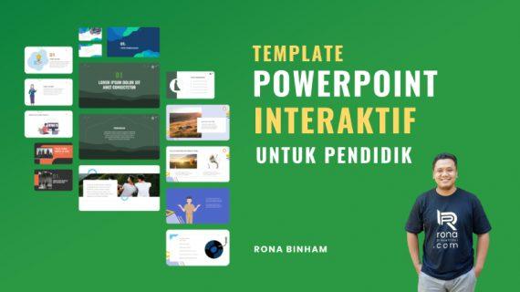 Template Powerpoint Interaktif, Kekinian, Bisa Diedit, Full Animasi Untuk Para Pendidik